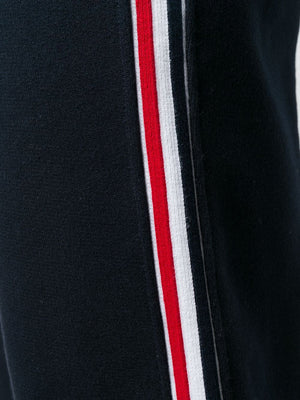 THOM BROWNE MEN SWEATPANTS IN CLASSIC LOOPBACK WITH RWB STRIPE