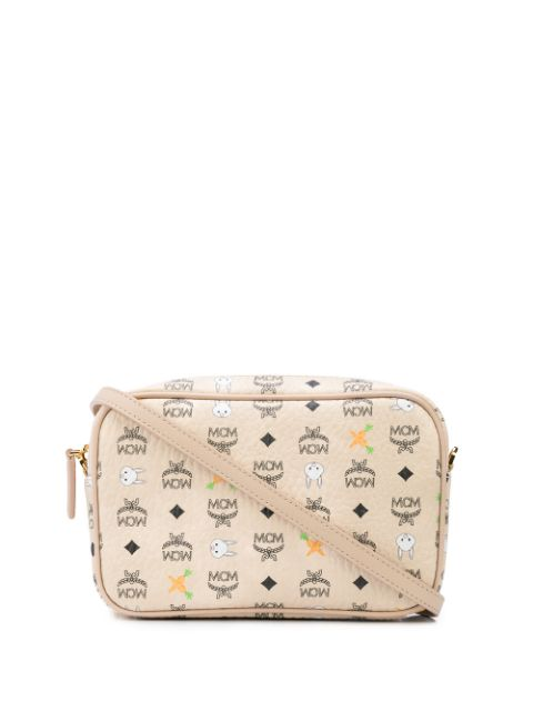 MCM RABBIT PRINT ORIGINAL VISETOS CAMERA BAG