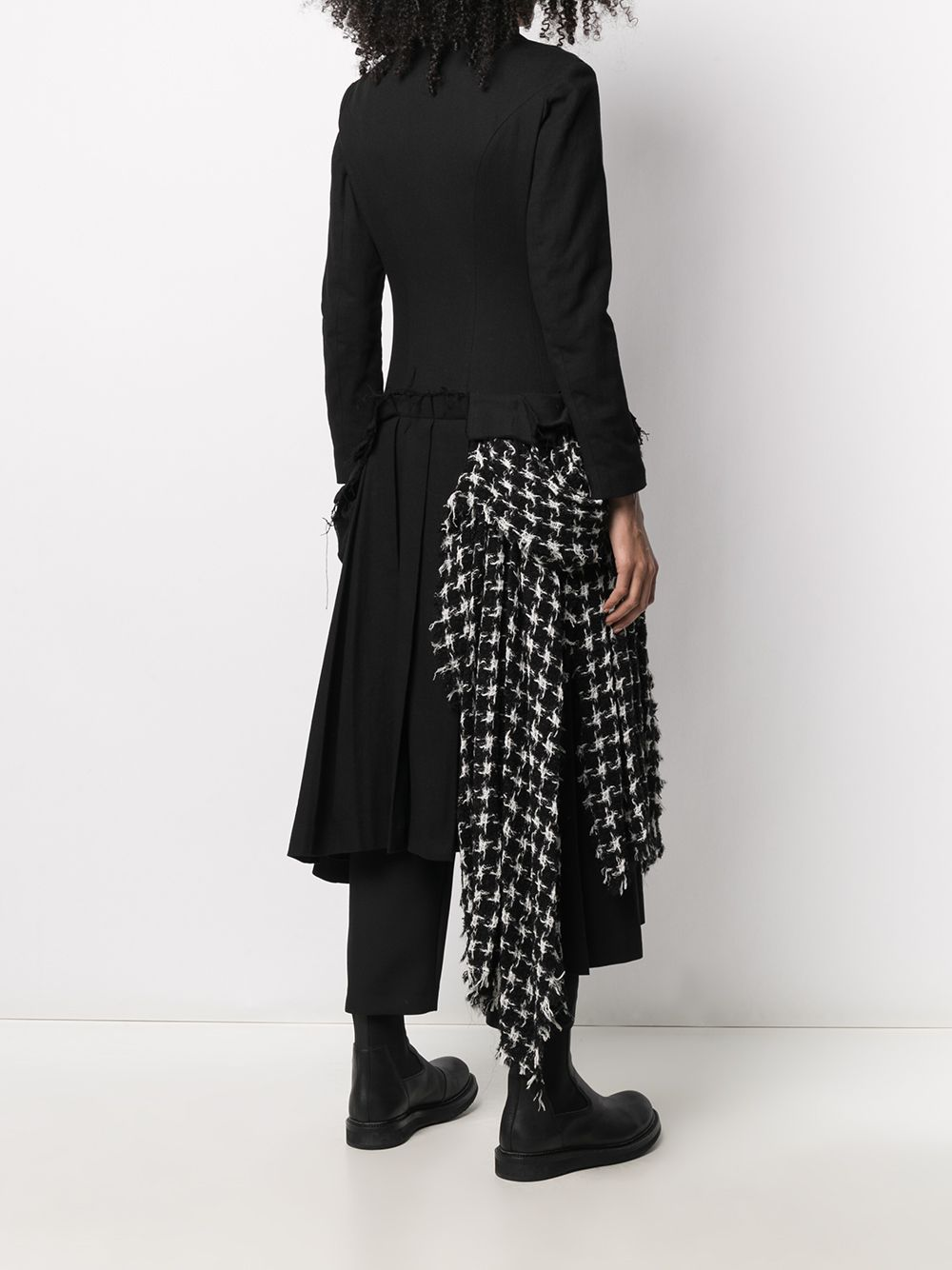 YOHJI YAMAMOTO WOMEN FRONT PLEATS DRESS JACKET