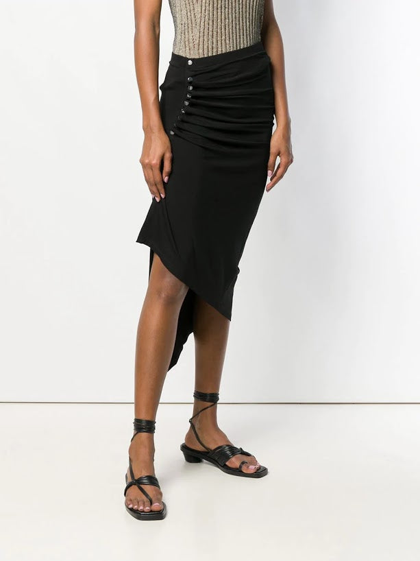PACO RABANNE WOMEN JUPE KNEE SKIRT