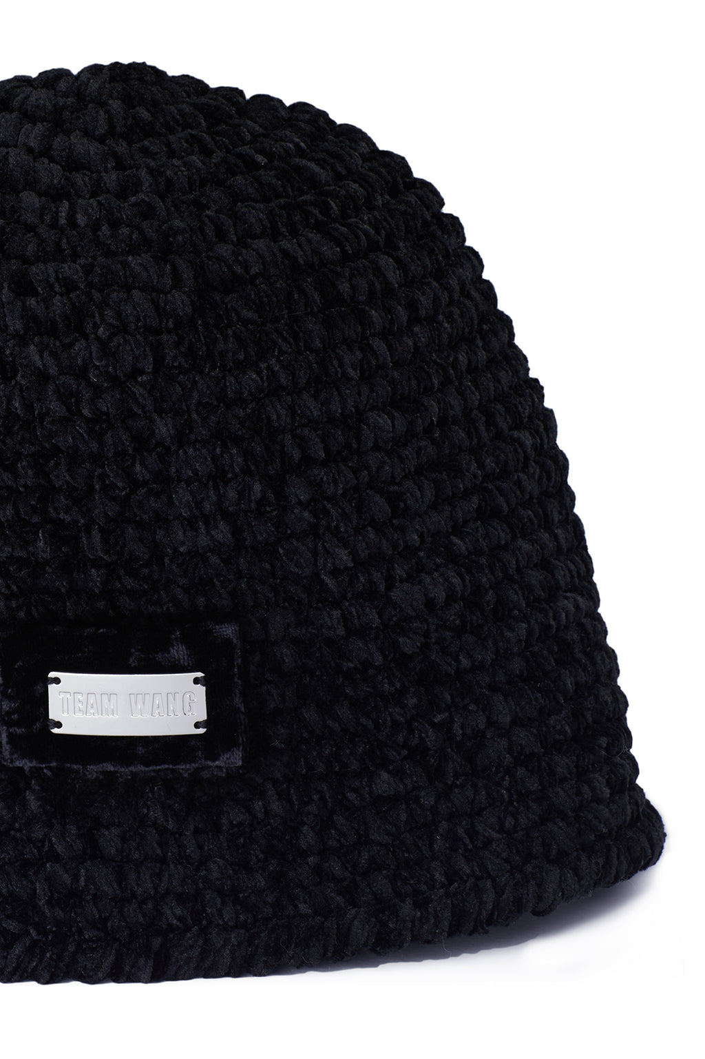 TEAM WANG KNITTED BUCKET HAT