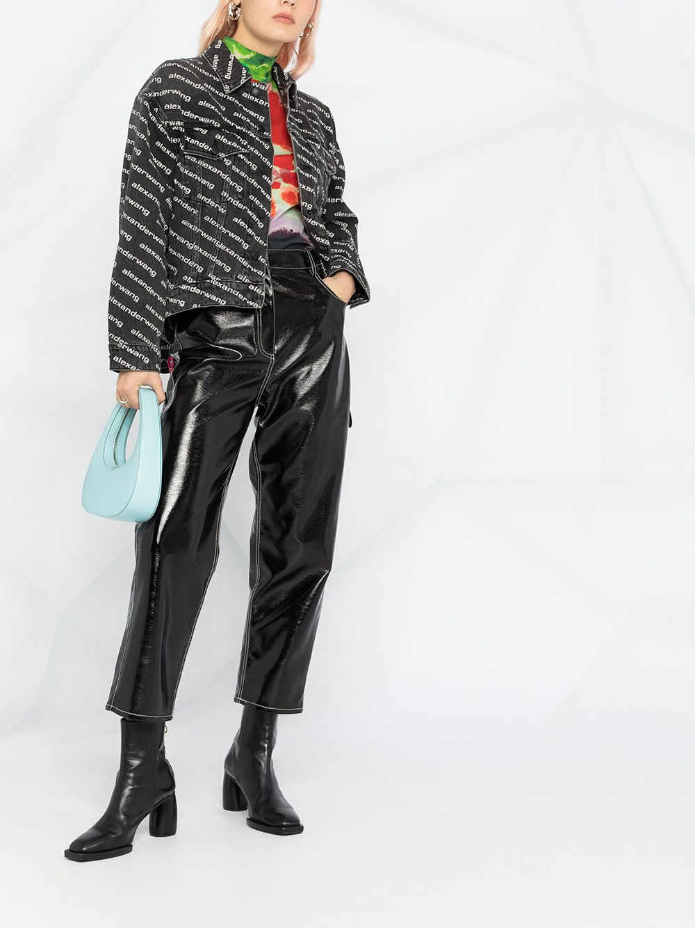 ALEXANDER WANG WOMEN FALLING BACK JACKET