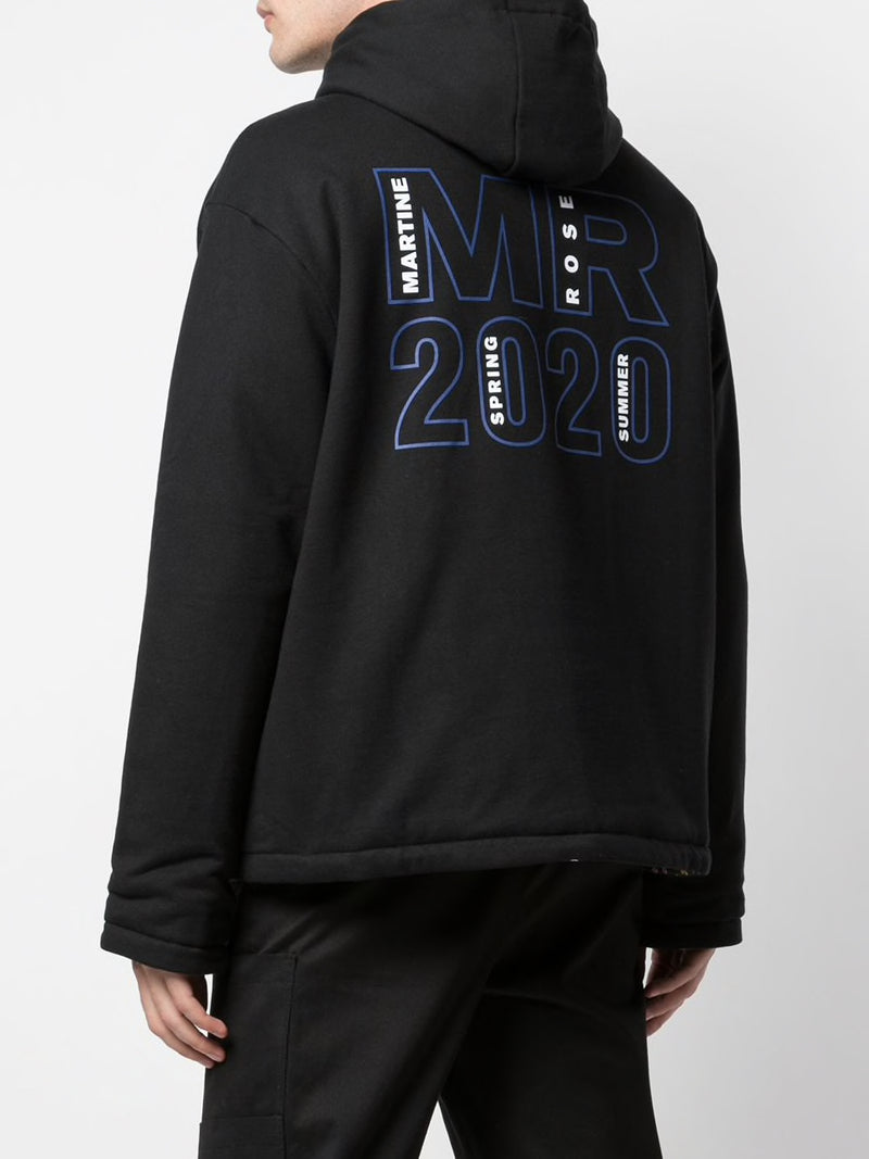 MARTINE ROSE MEN HOODIE WITH 20/20 ARTWORK