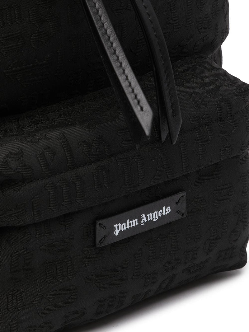 PALM ANGELS MONOGRAM SMALL BACKPACK