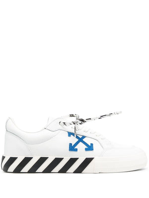 OFF-WHITE MEN LOW VULCANIZED CALF LEATHER SNEAKER
