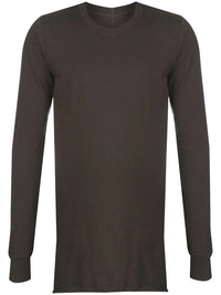 RICK OWENS MEN BASIC LONG SLEEVE TEE