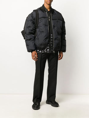 MAISON MARGIELA MEN GLAM SLAM PADDED BOMBER JACKET