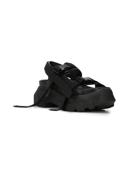 RICK OWENS WOMEN TRACTOR SANDALS