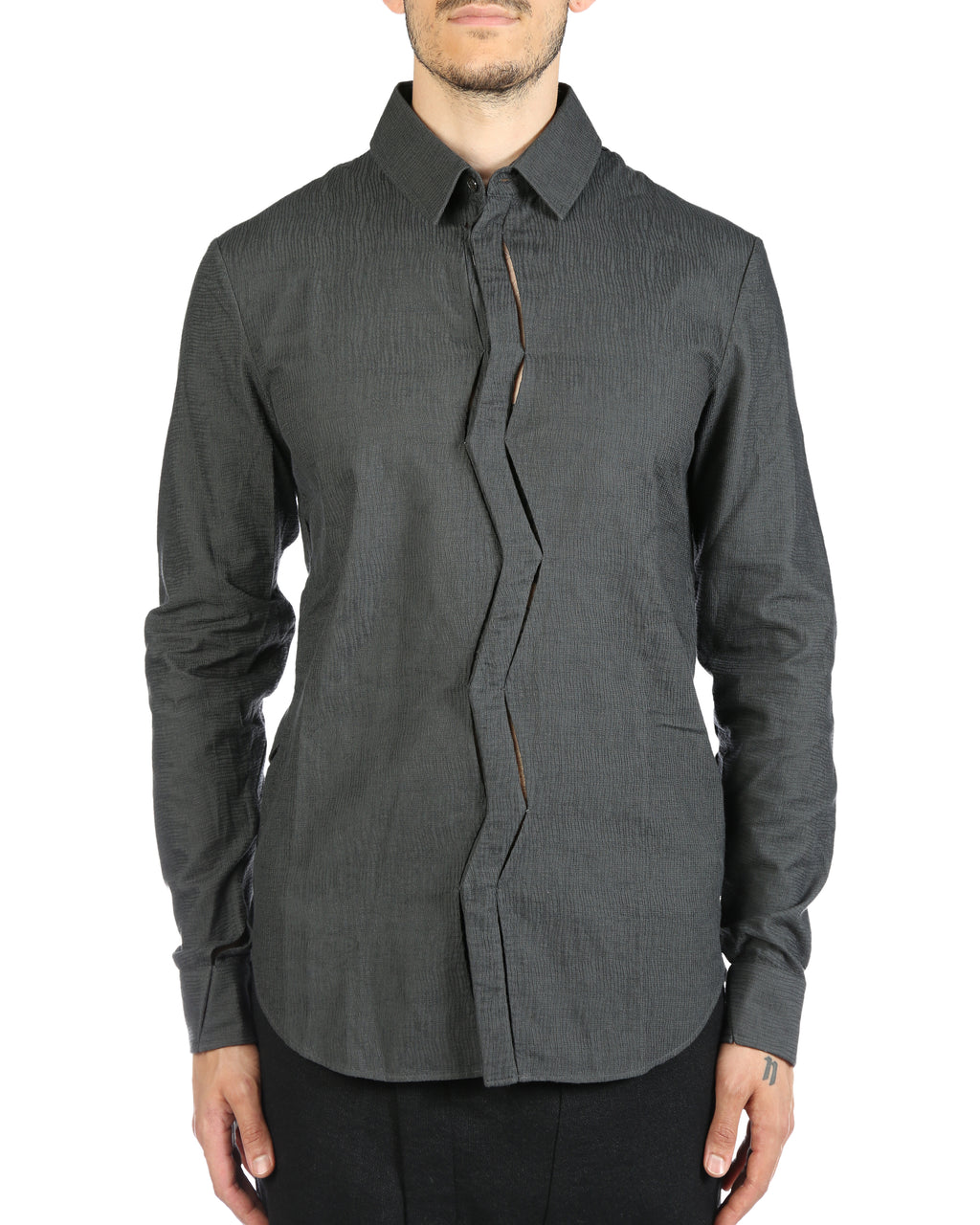 DEEPTI MEN CRASH SEAM SHIRT