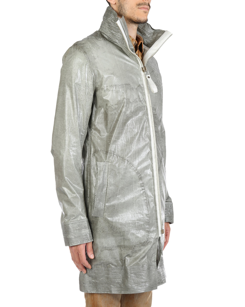 DEEPTI MEN WIRED PARKA WITH AIRLOCK ZIP O-118W DRAG 67 FWBI