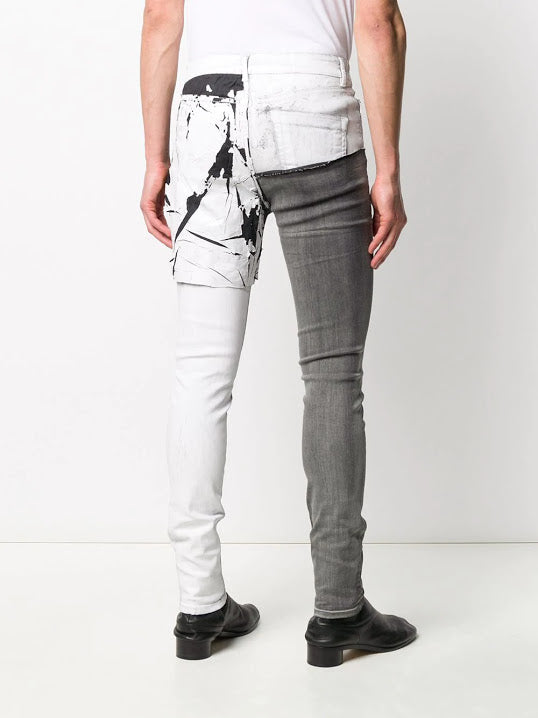 RICK OWENS MEN TYRONE COLLAGE PANTS