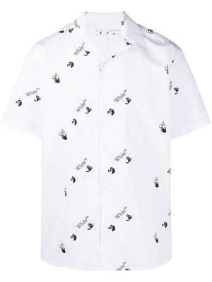 OFF-WHITE MEN OW ALLOVER HOLIDAY SHIRT