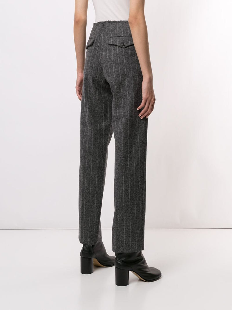 MAISON MARGIELA WOMEN STRIPE PANTS