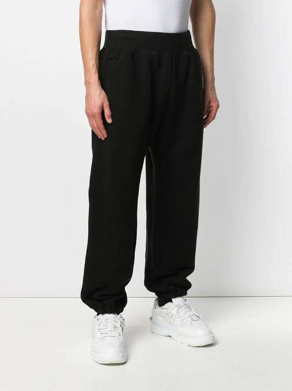 UNDERCOVER MEN ROSE LOGO PATCH SWEAT PANTS