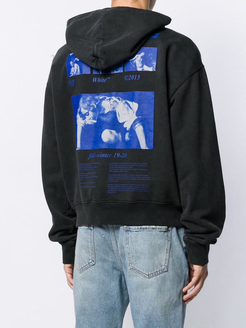 OFF WHITE MEN HARDCORE CARAVAGG OVER HOODIE