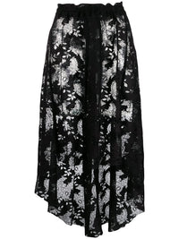 ANN DEMEULEMEESTER WOMEN LACE BUTTON SKIRT
