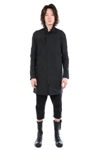 LEON EMANUEL BLANCK MEN DISTORTION SHORT TRENCH COAT