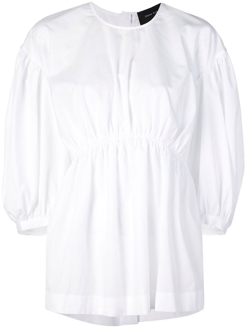 SIMONE ROCHA WOMEN RUCHED FRONT TOP