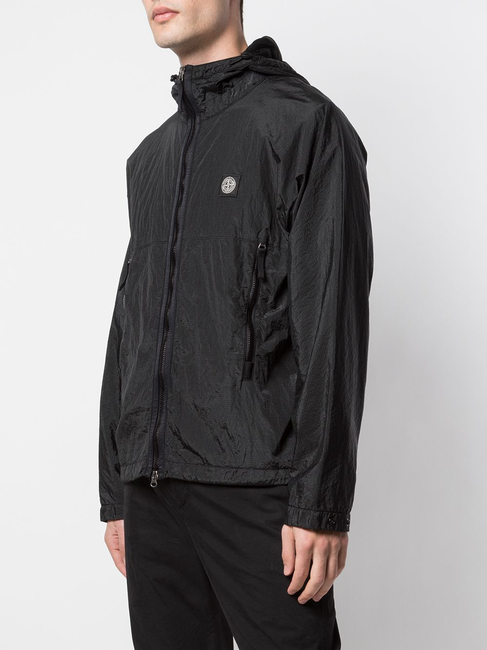 STONE ISLAND MEN NYLON METAL WATRO RIPSTOP ZIP UP JACKET