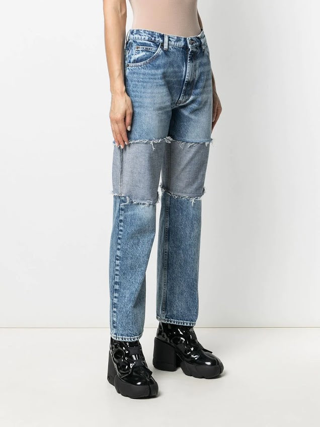 MAISON MARGIELA WOMEN RECONSTRUCTED DENIM