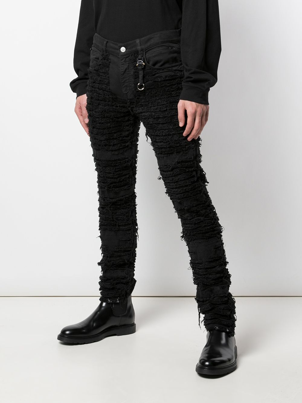 1017 ALYX 9SM MEN 5 POCKET BLACKMEANS PANTS