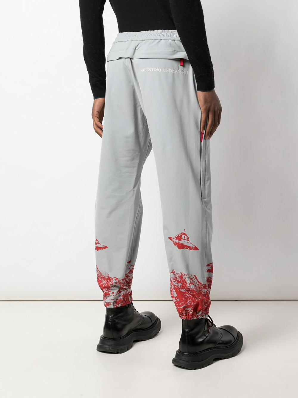 UNDERCOVER X VALENTINO MEN PRINTED TRACK PANTS