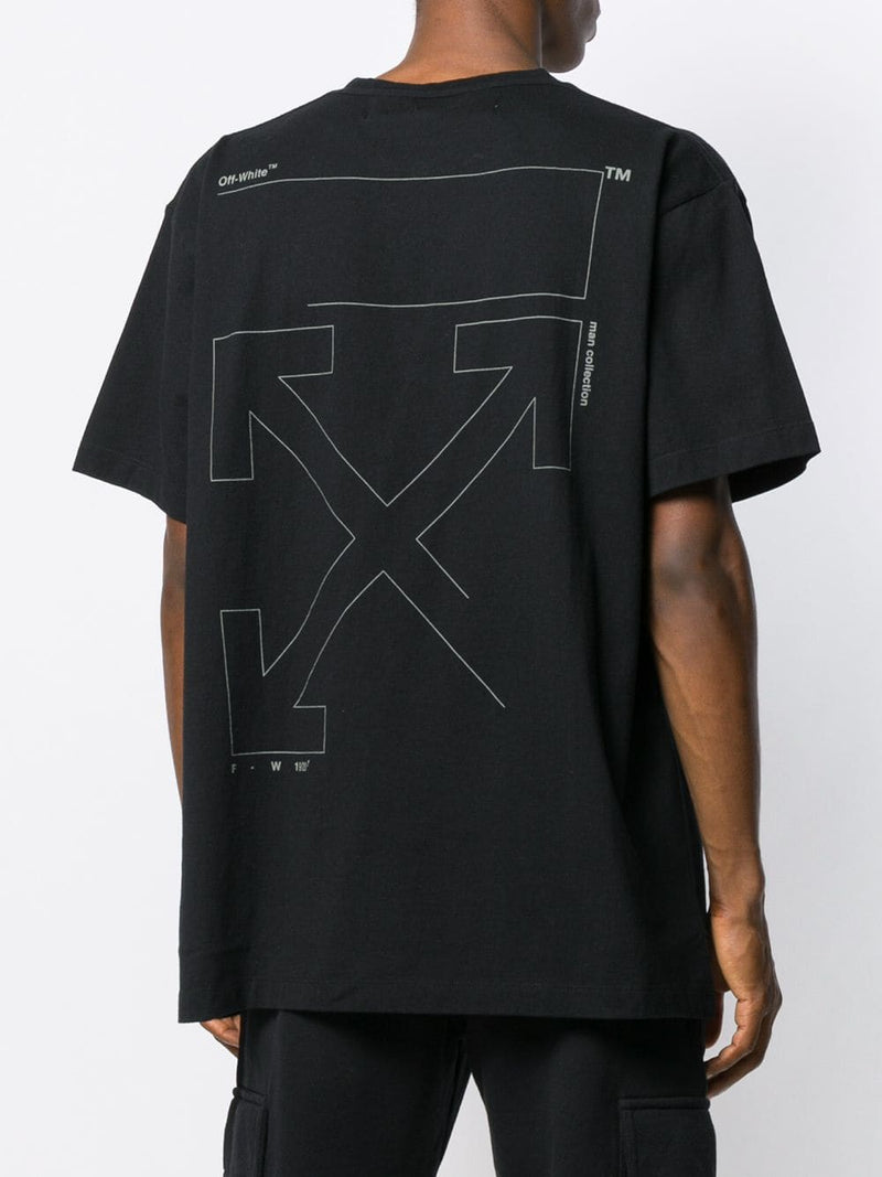 OFF-WHITE MEN UNFINISHED S/S OVER TEE