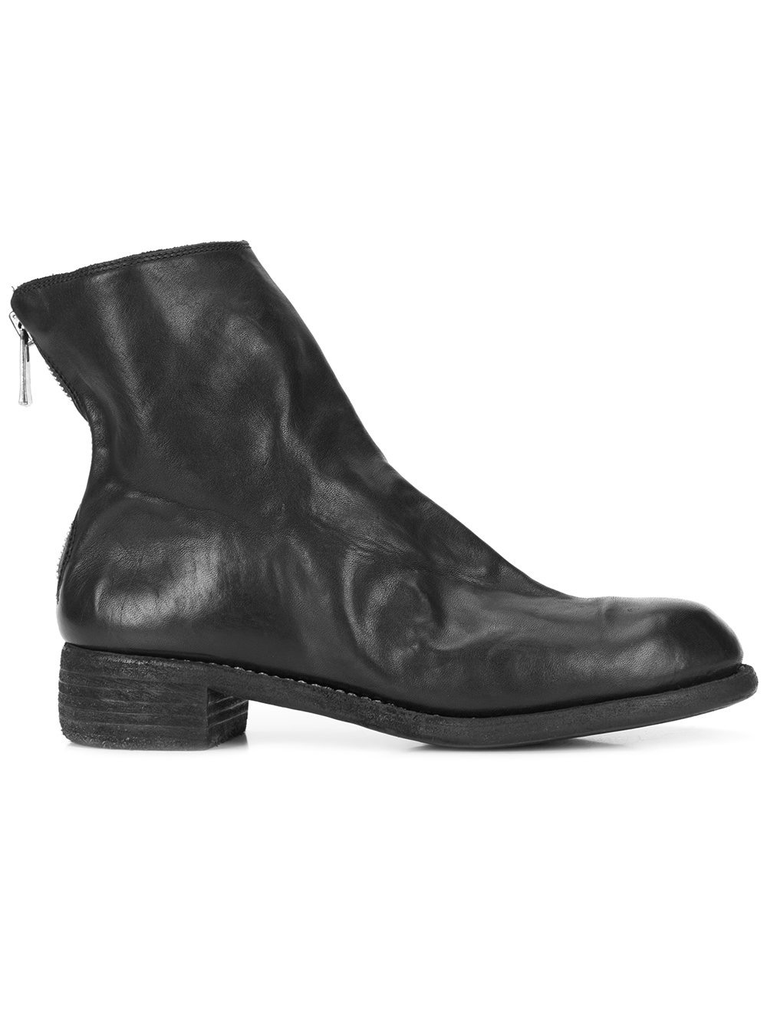 GUIDI WOMEN M86B SOFT HORSE LEATHER POINTY TOE BACK ZIP BOOT