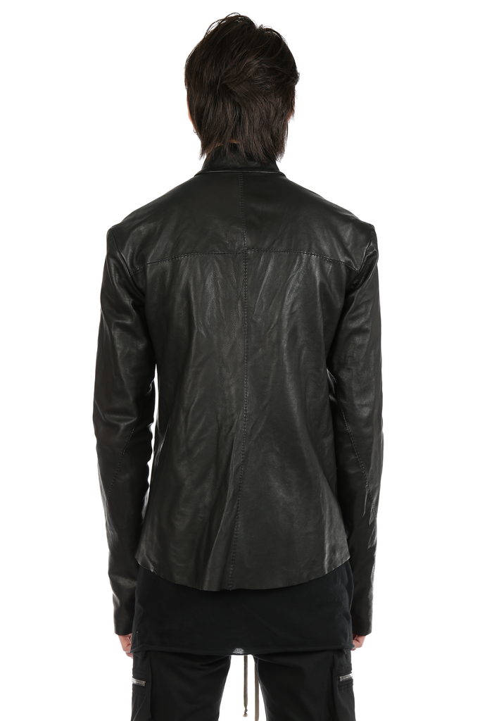 MA+ MEN RELAXED FIT BIKER JACKET