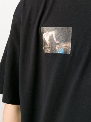 OFF-WHITE MEN CARAVAGGIO ANGEL S/S OVER TEE