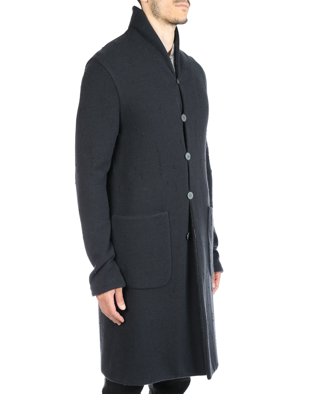LABEL UNDER CONSTRUCTION MEN REVERSIBLE RAINDROPS COAT