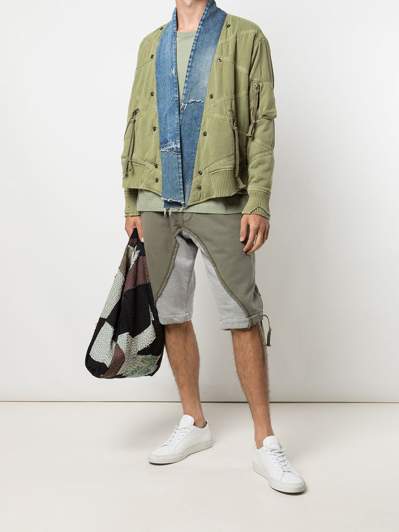 GREG LAUREN MEN UTILITY FLIGHT GL1 JACKET