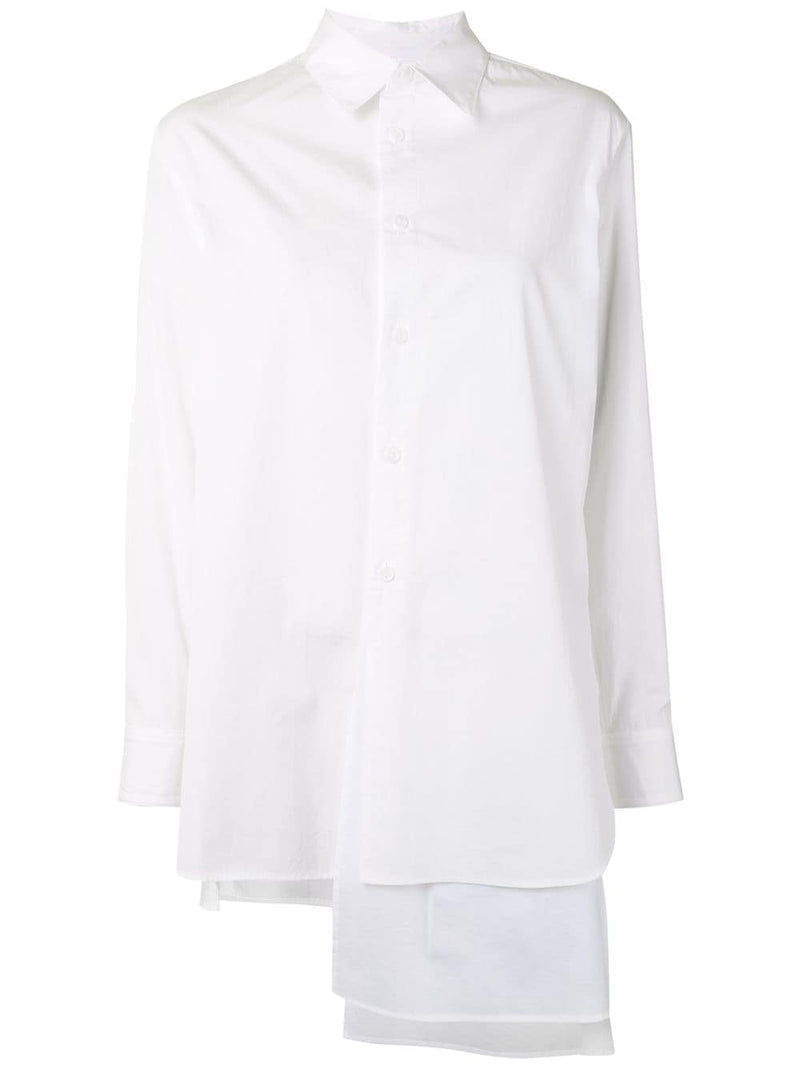 Y'S WOMEN LAYER PLUSH SHIRT
