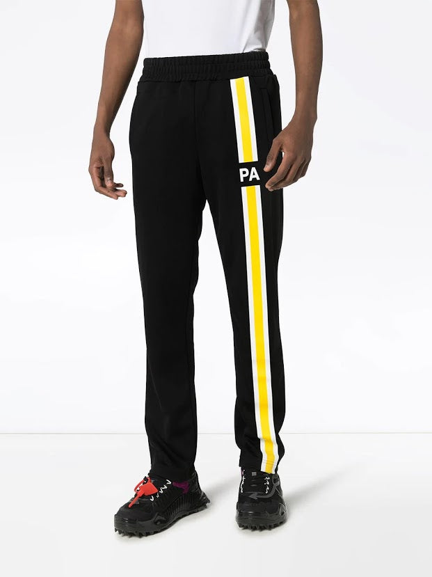 PALM ANGELS MEN MONOGRAM TRACK PANTS