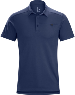 ARCTERYX MEN CAPTIVE SHORT SLEEVE POLO