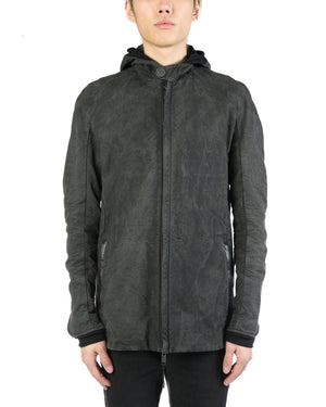 LAYER-0 MEN LINEN BLEND E CABAN JACKET