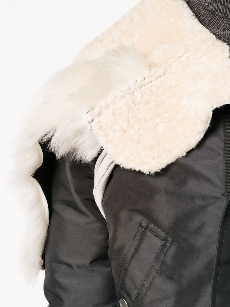 RICK OWENS MEN JUMBO PARKA BROTHER