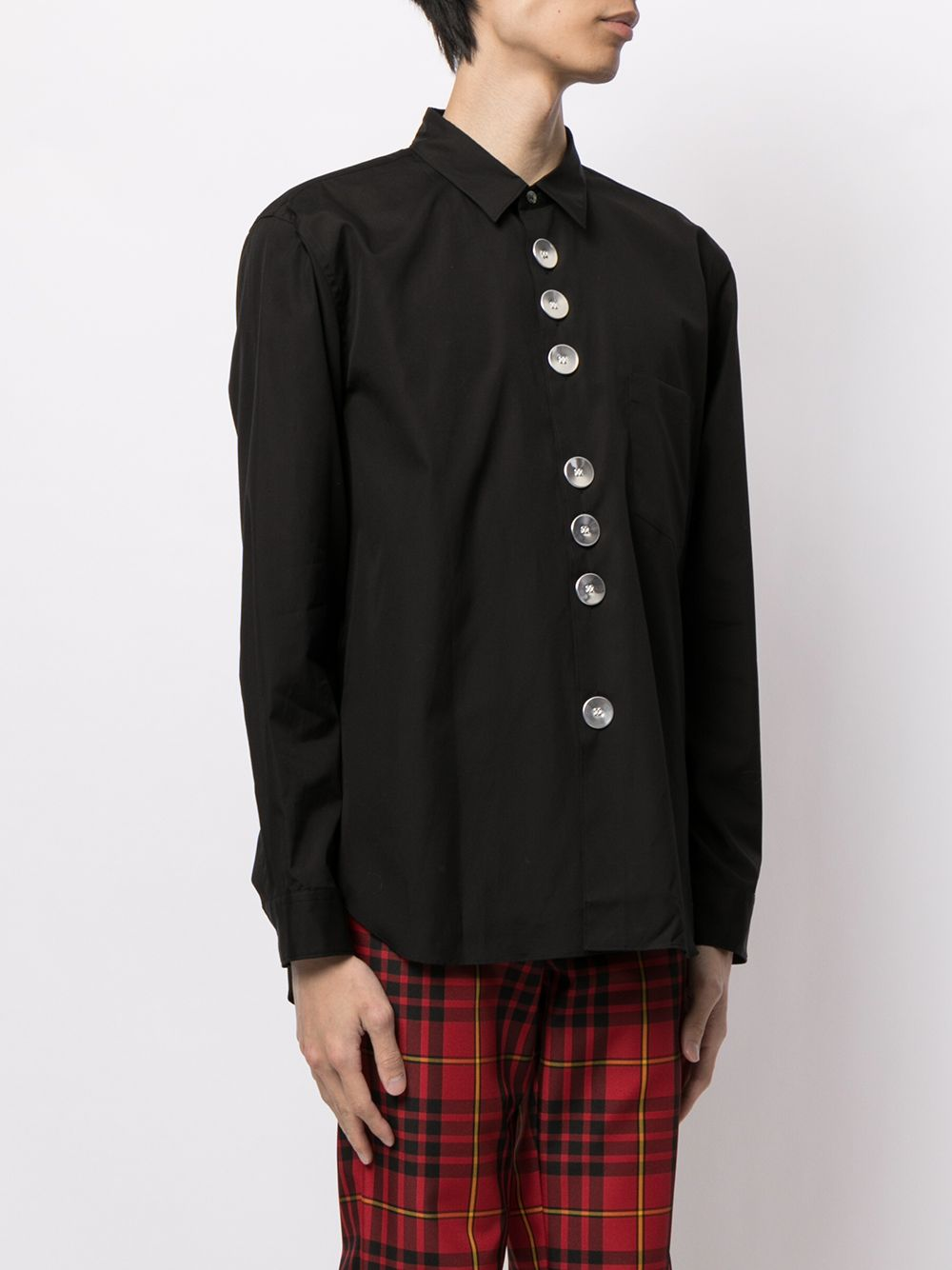 COMME DES GARCONS HOMME PLUS MEN OVERSIZED BUTTON SHIRT
