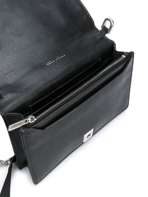 RICK OWENS WOMEN GRIFFIN LEATHER BAG