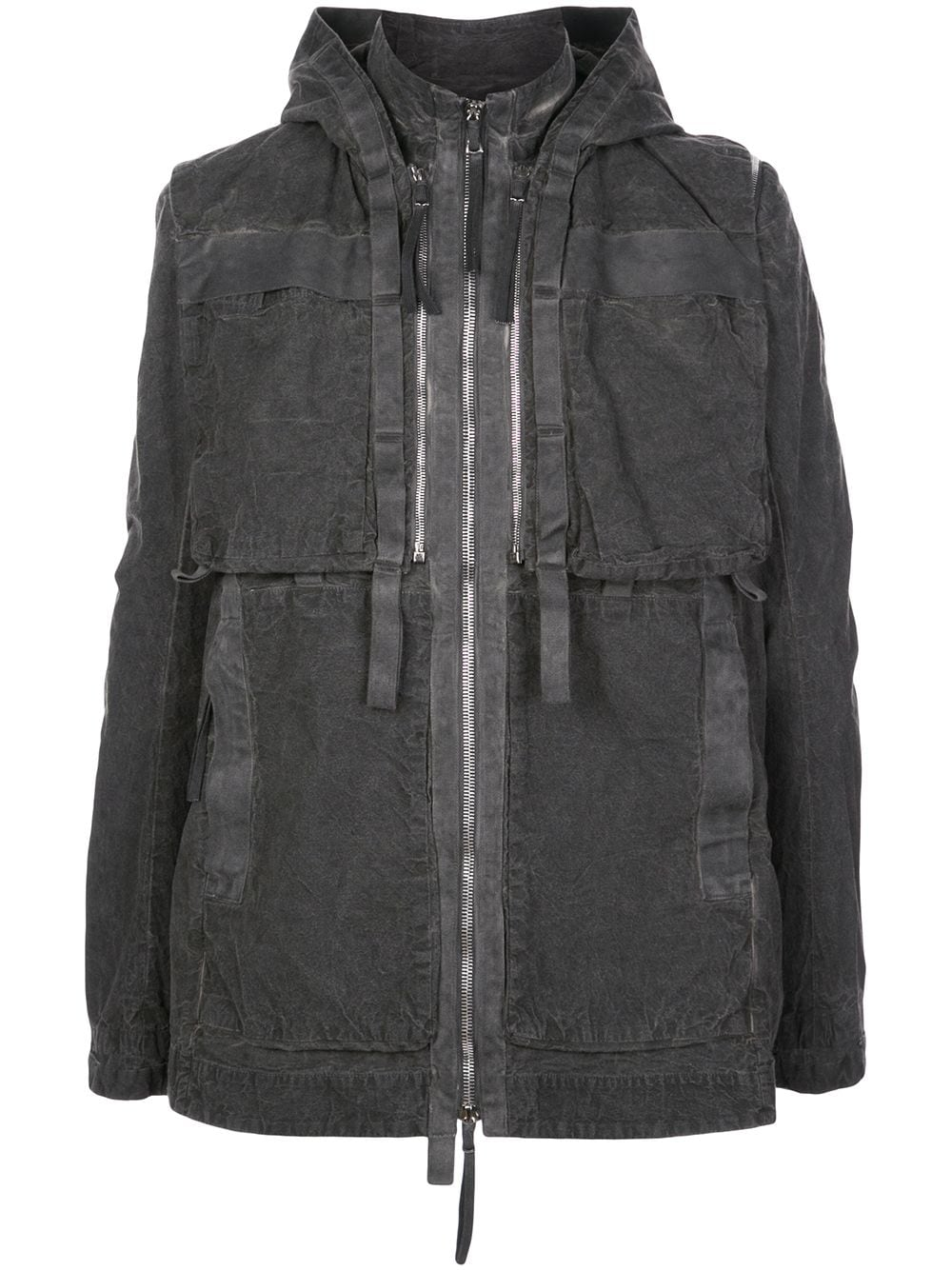 BORIS BIDJAN SABERI MEN VESTED PARKA