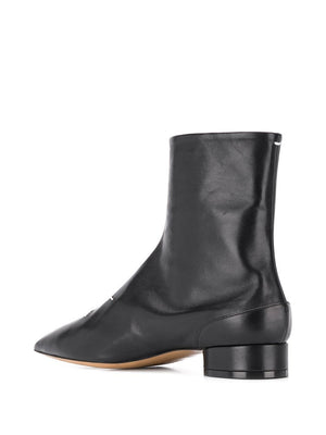 MAISON MARGIELA WOMEN 4 STITCHES POINTY TOE BOOTS