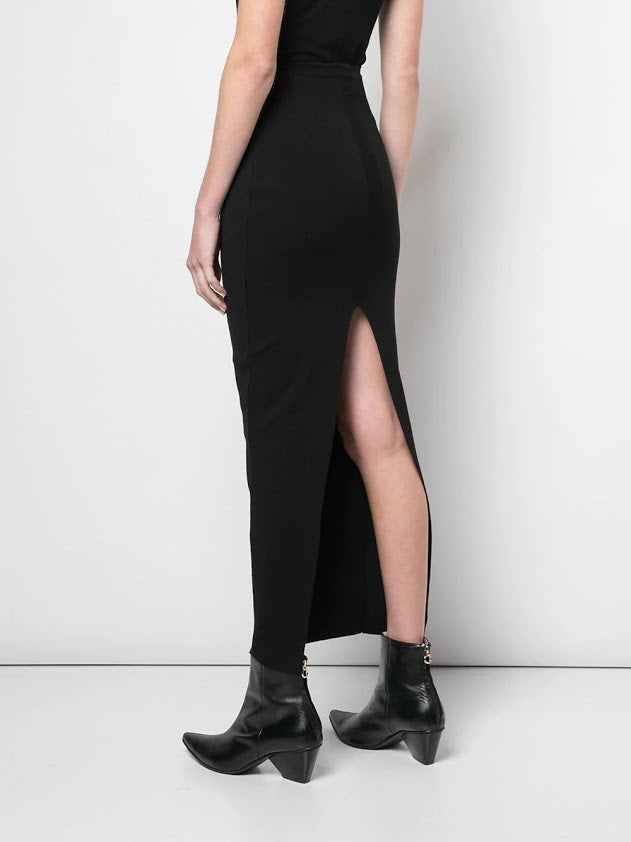 RICK OWENS WOMEN KNIT SKIRT