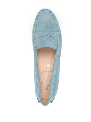 TOD'S WOMEN GOMMINO SUEDE DRIVING SHOES