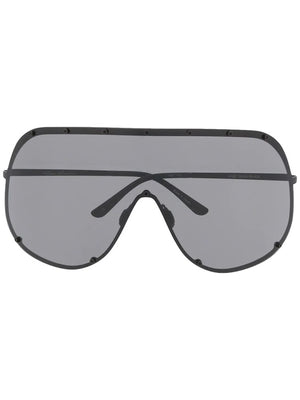 RICK OWENS SHIELD SUNGLASSES GBLKB