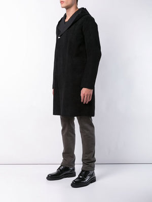 TAICHI MURAKAMI MEN REVERSIBLE HOODED COAT