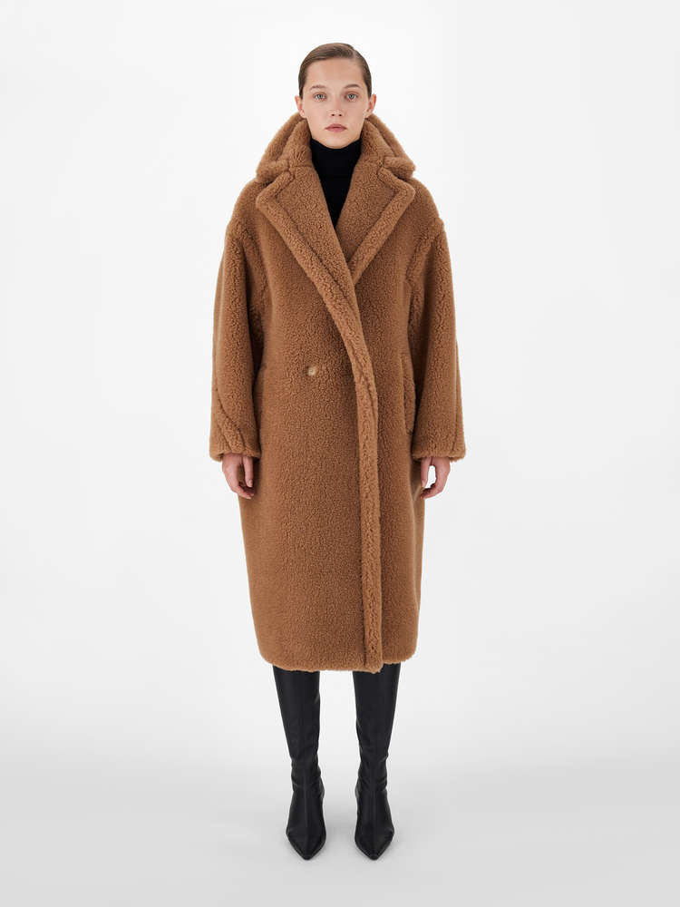 MAX MARA WOMEN 3 TEDDY COAT