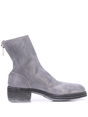 GUIDI WOMEN 796Z SOFT HORSE LEATHER CLASSIC BACKZIP SHORT BOOTS CO49T