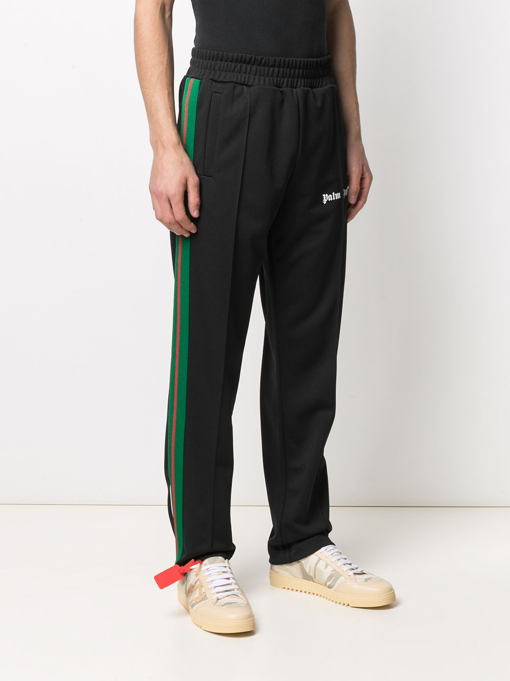 PALM ANGELS MEN COLLEGE TRACK PANTS