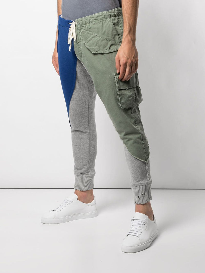 GREG LAUREN MEN QUARTED PANTS