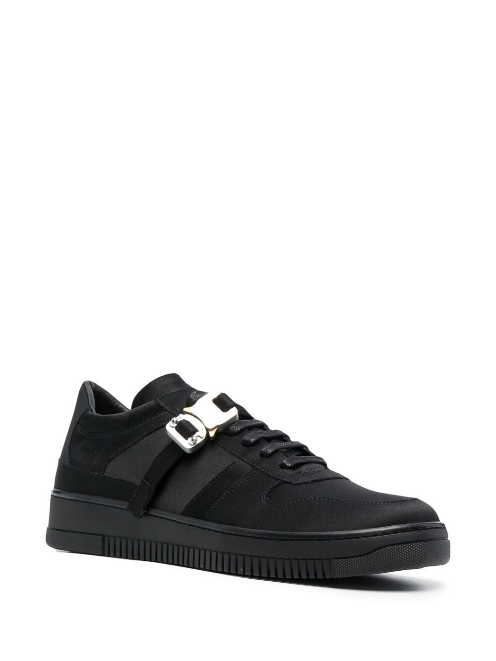 1017 ALYX 9SM MEN SATIN BUCKLE LOW SNEAKERS